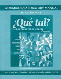 9780072871647: Que Tal?: Introductory Course (Custom Workbook/ Laboratory Manual)