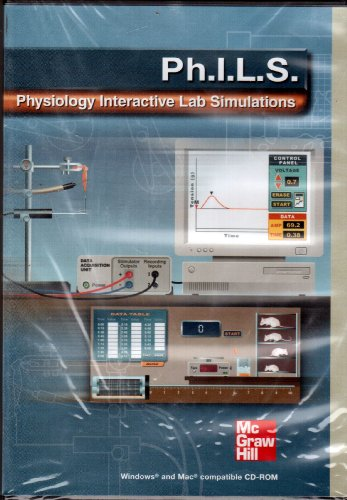 9780072871685: Ph.I.L.S.- Physiology Interactive Laboratory Simulations , Package Version