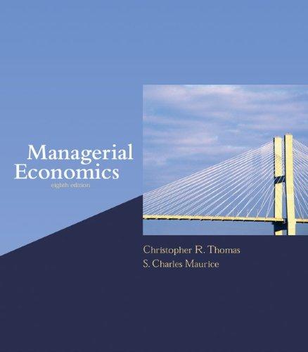 9780072871746: Managerial Economics