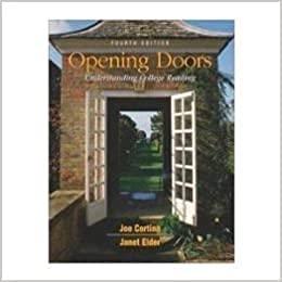 9780072871968: Opening Doors: Understanding College Reading