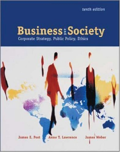 9780072872279: Business & Society: Corporate Strategy, Public Policy, and Ethics  with PowerWeb and Enron Case