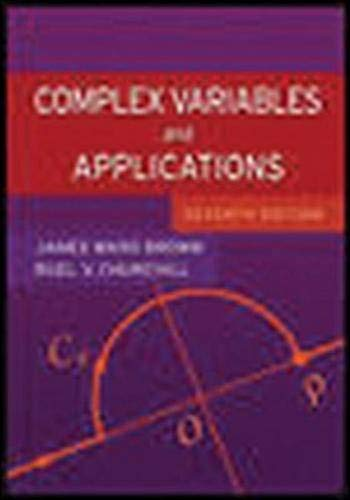 9780072872521: Complex Variables and Applications (Churchill-Brown Series)