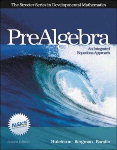 9780072872569: Prealgebra (Streeter Series)