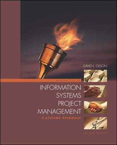 9780072872705: Introduction to Information Systems Project Management