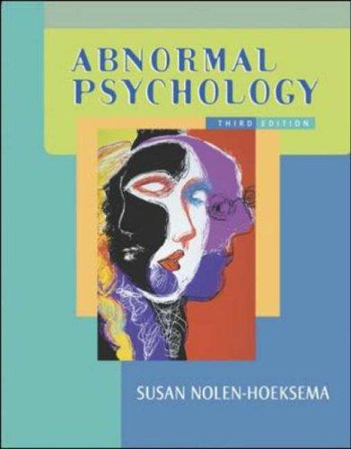 9780072872965: Abnormal Psychology w/ MindMap CD and PowerWeb