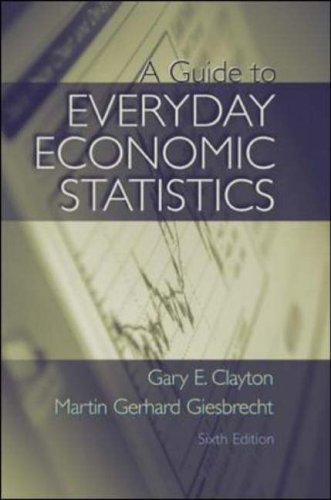 9780072873290: A Guide to Everyday Economic Statistics