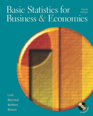 9780072874204: Basic Statistics for Business and Economics W/Student CD and PowerWeb