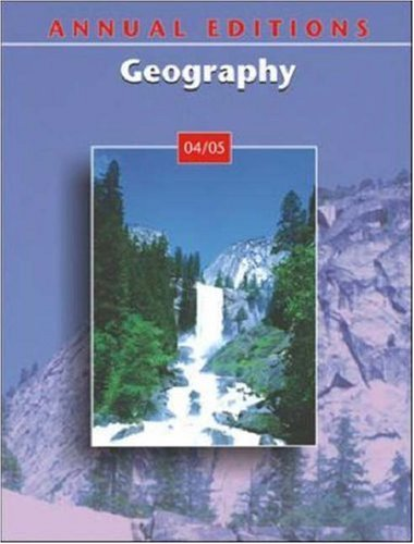 9780072874396: Annual Editions: Geography 04/05 (Annual Editions)