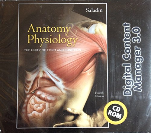 9780072875089: Anatomy and Physiology: Digital Content Manager