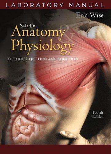 9780072875096: Anatomy and Physiology Laboratory Manual t/a 4/e