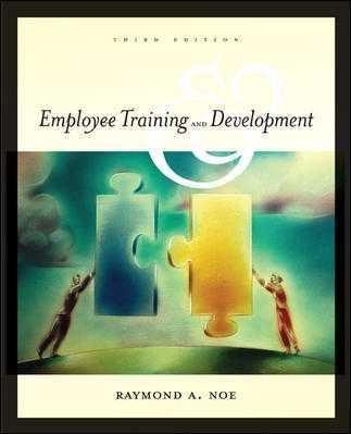 9780072875508: Employee Training and Development