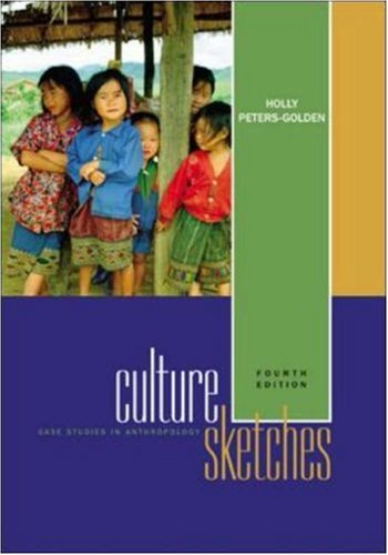 9780072876086: Culture Sketches: Case Studies in Anthropology