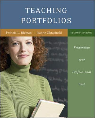 9780072876840: Creating Your Teaching Portfolio: Presenting Your Professional Best