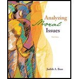 9780072877038: Analyzing Moral Issues
