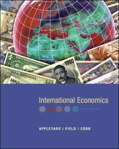 9780072877373: International Economics
