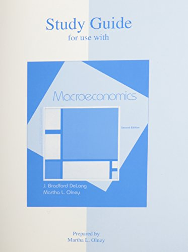 9780072877656: Study Guide to accompany Macroeconomics