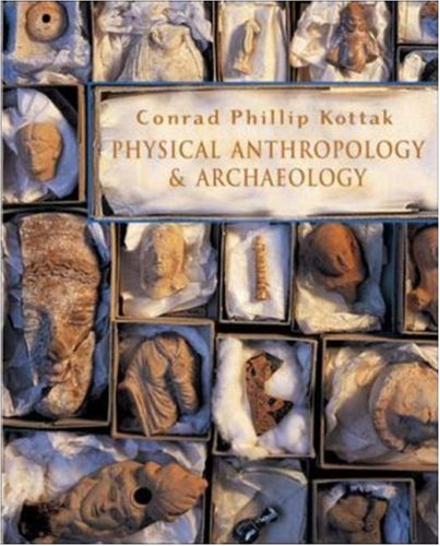 9780072878240: Physical Anthropology and Archaeology with Student Atlas and PowerWeb