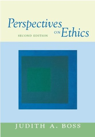 9780072878264: Perspectives on Ethics with Free Ethics PowerWeb