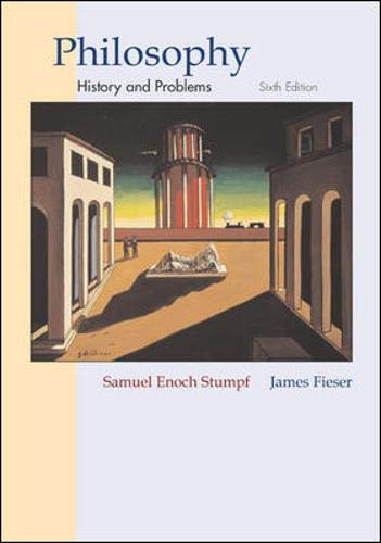 Philosophy: History & Problems with Free Philosophy: Stumpf, Samuel Enoch;