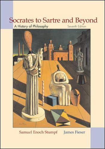 Socrates to Sartre and Beyond: A History: Samuel Enoch Stumpf,