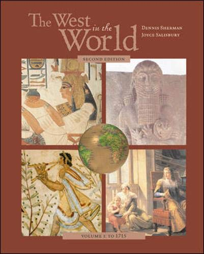 9780072878318: The West in the World, Volume I, MP with ATFI Tracing the Silk Roads and PowerWeb