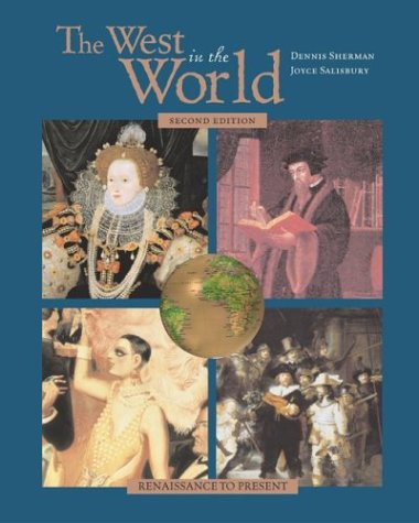 9780072878455: The West in the World, Renaissance to Present, MP with ATFI Envisioning the Atlantic World and PowerWeb