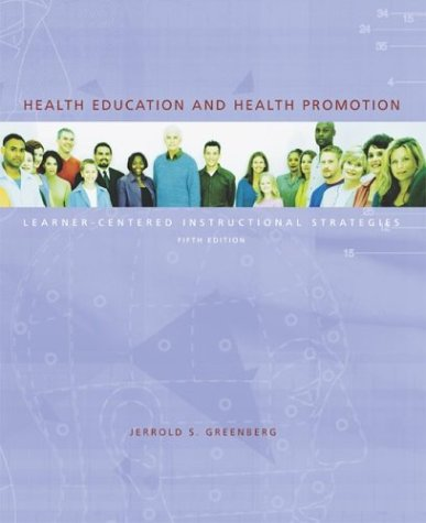 9780072878578: Health Education and Health Promotion: Learner-Centered Instructional Strategies with PowerWeb Bind-in Passcard