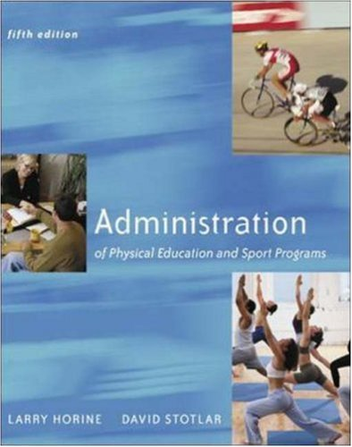 9780072878585: Administration Of Physical Education And Sport Programs with PowerWeb Bind-in Passcard
