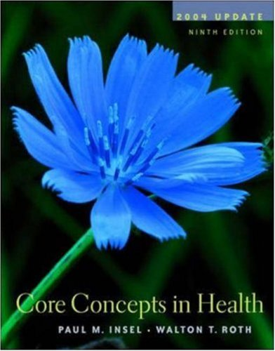9780072878592: Core Concepts in Health 2004 Update with PowerWeb/OLC Bind-in Passcard, HealthQuest CD-Rom & Learning to Go Health