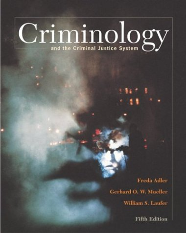 9780072878820: Criminology and the Criminal Justice System with Making the Grade Student CD-ROM and PowerWeb