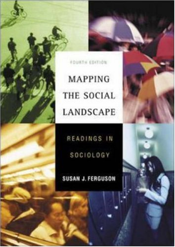 9780072878998: Mapping the Social Landscape: Readings in Sociology