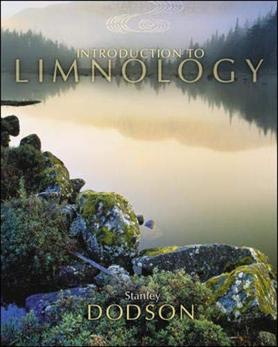 Introduction to Limnology: Dodson, Stanley