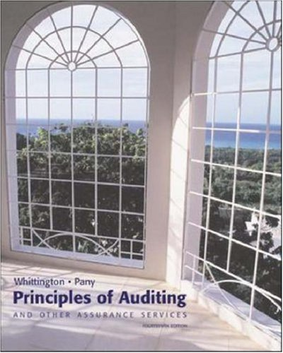9780072879520: Principles of Auditing & Other Assurance Services