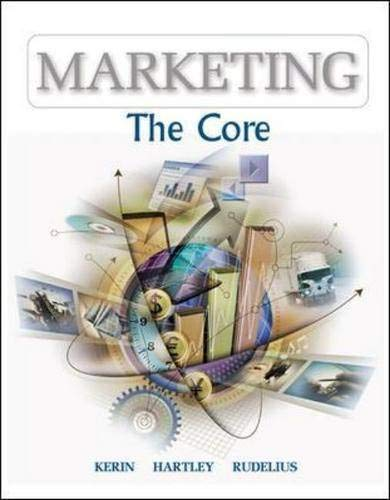 Marketing: The Core with PowerWeb: Roger A. Kerin,