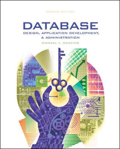 Database Design, Application & Administration w/ ER: Michael V. Mannino,