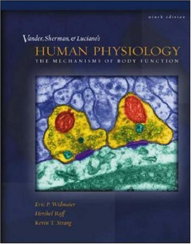 9780072880748: Vander et al's Human Physiology: The Mechanisms of Body Function