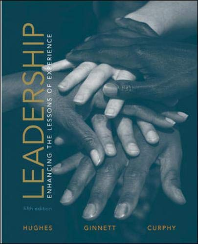9780072881202: Leadership: Enhancing the Lessons of Experience