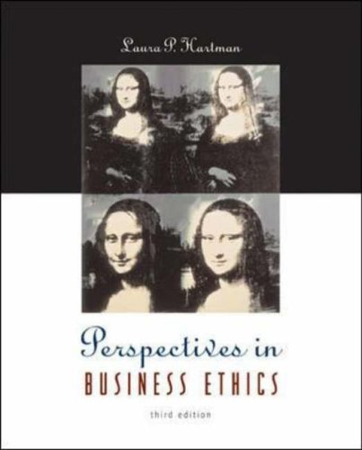 9780072881462: Perspectives in Business Ethics