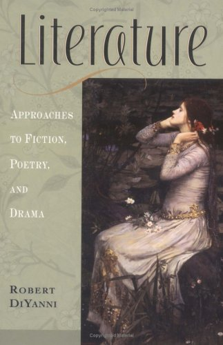robert diyanni elements of literature Literature reading fiction poetry and drama by robert diyanni is available now for quick shipment to any us location this 6th edition used book is in good condition.