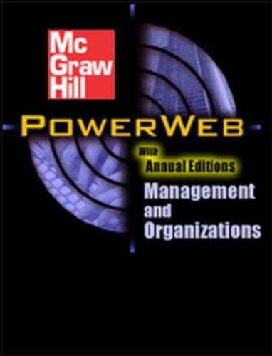 9780072881974: Organizational Behavior with Student CD & PowerWeb