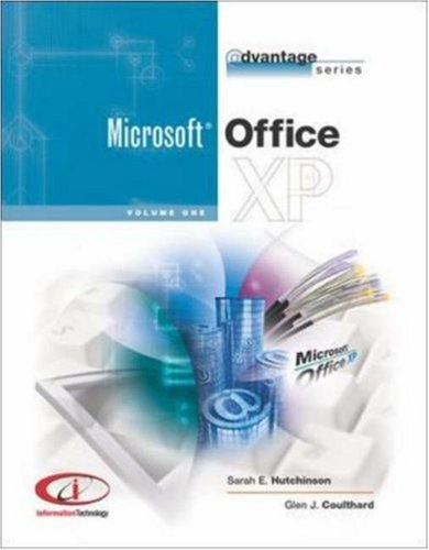 9780072882285: Advantage Series Office XP Vol 1. w/Student Datafiles CD
