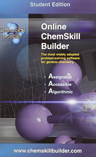 9780072882643: ChemSkill Builder Online V.2 - Student's Edition (password booklet) - for packages