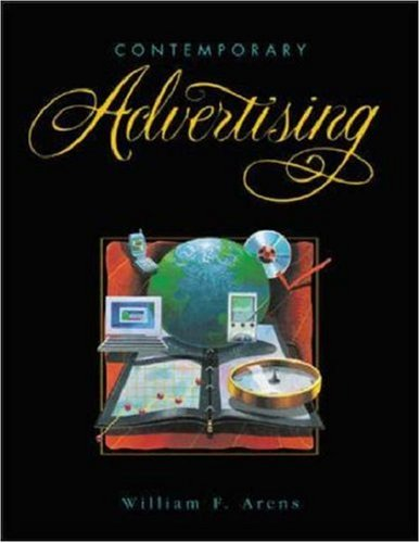 9780072883923: Contemporary Advertising with PowerWeb and CD-ROM