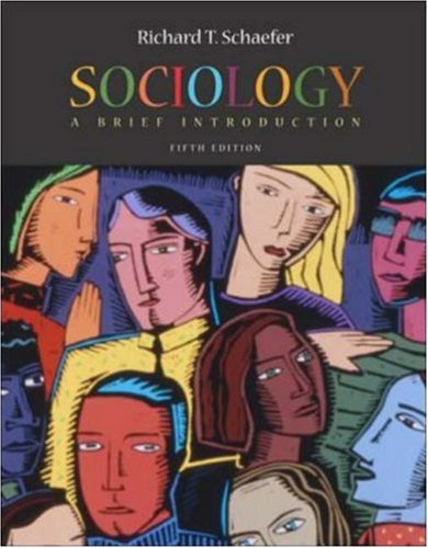 9780072884111: Sociology: A Brief Introduction with Reel Society Interactive Movie 1.0 CD-ROM and PowerWeb