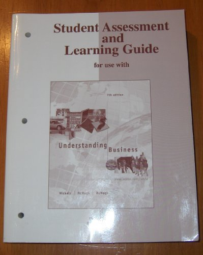 9780072884357: Understanding Business (Student Assessment and Learning Guide)