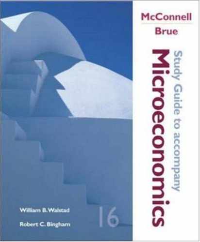Microeconomics (Study Guide): McConnell, Campbell R,