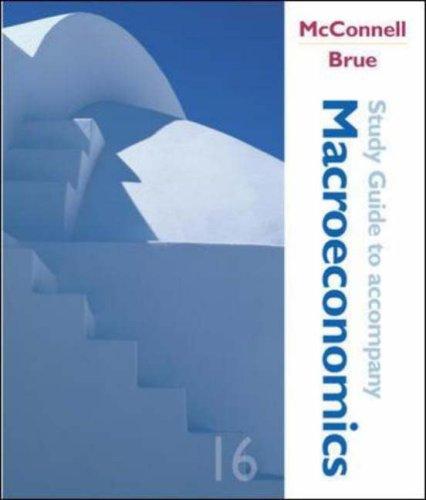 9780072884739: Macroeconomics, Study Guide