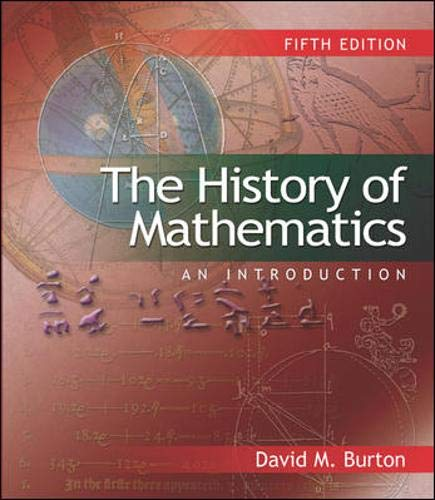 9780072885231: The History of Mathematics: An Introduction (reprint ISBN)