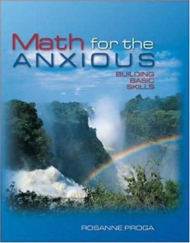 9780072885842: Math for the Anxious : Building Basic Skills