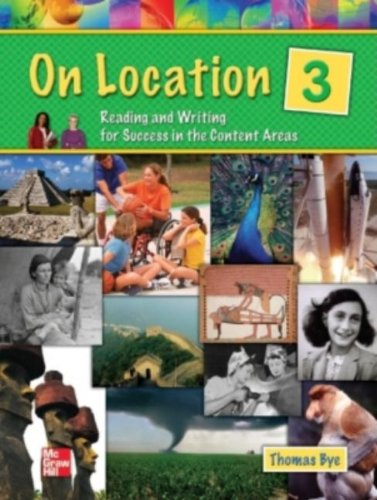 9780072886801: On Location - Level 3 Student Book: Reading and Writing for Success in the Content Areas